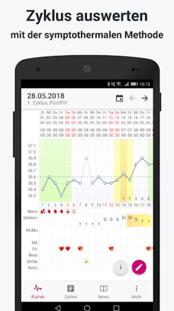 myNFP Mobile screenshot 1