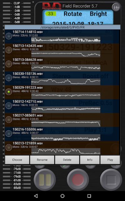 Field Recorder screenshot 17