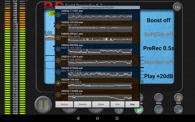Field Recorder screenshot 12