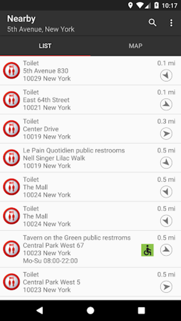 Public Toilet Finder | No. 1 Restroom Locator screenshot 1