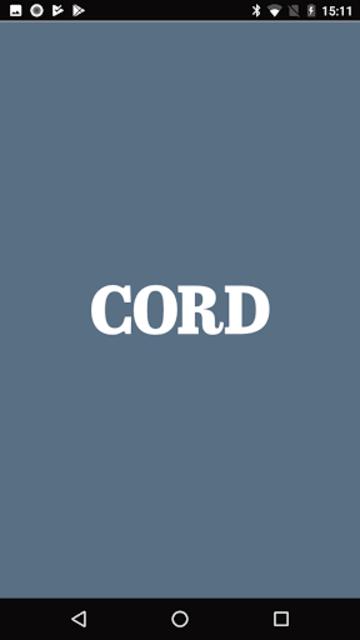 Cord screenshot 1