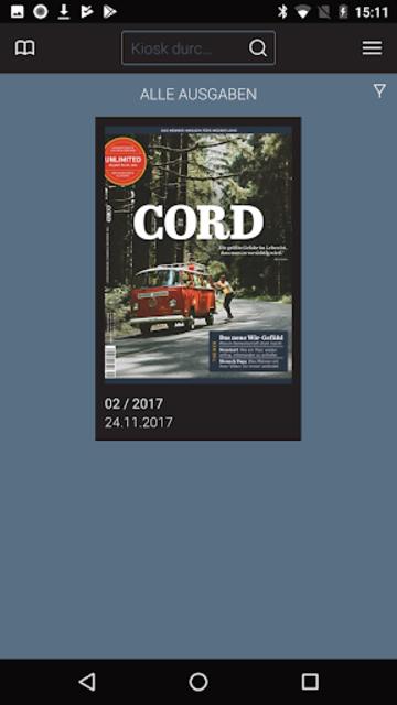 Cord screenshot 2