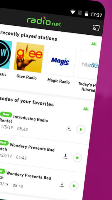 radio.net PRIME screenshot 2