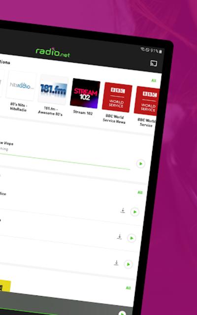 radio.net PRIME screenshot 9