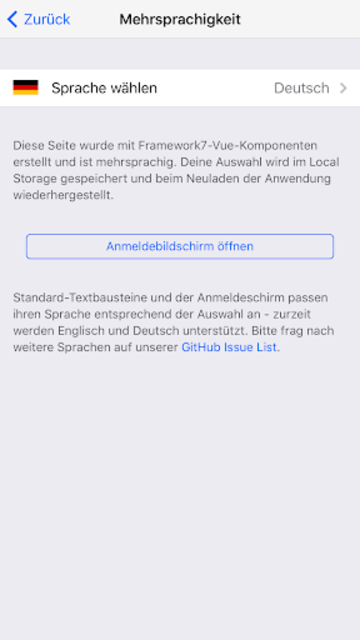 App Framework screenshot 5