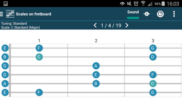smart Chords & tools (guitar, bass, banjo, uke... screenshot 16