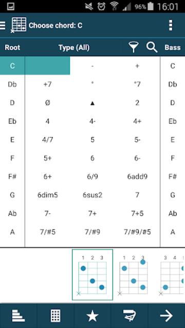smart Chords & tools (guitar, bass, banjo, uke... screenshot 2