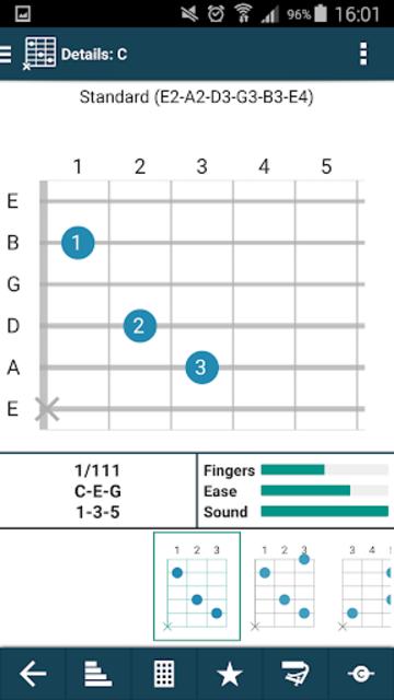 smart Chords & tools (guitar, bass, banjo, uke... screenshot 3