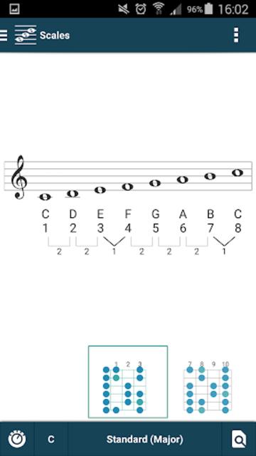 smart Chords & tools (guitar, bass, banjo, uke... screenshot 5