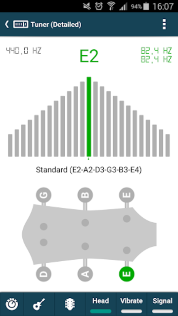smart Chords & tools (guitar, bass, banjo, uke... screenshot 6