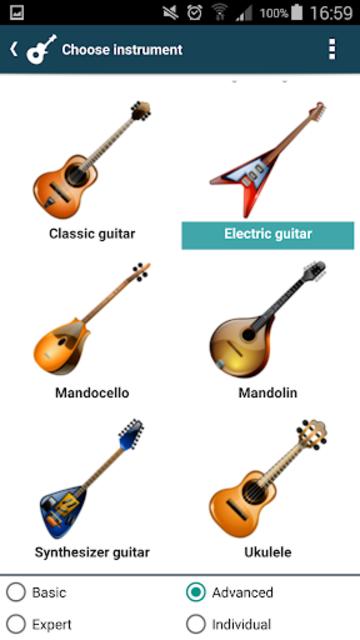 smart Chords & tools (guitar, bass, banjo, uke... screenshot 12