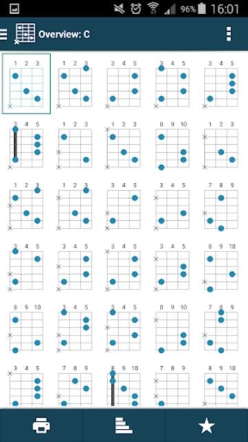 smart Chords & tools (guitar, bass, banjo, uke... screenshot 14