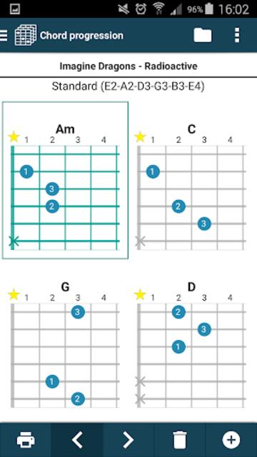 smart Chords & tools (guitar, bass, banjo, uke... screenshot 15