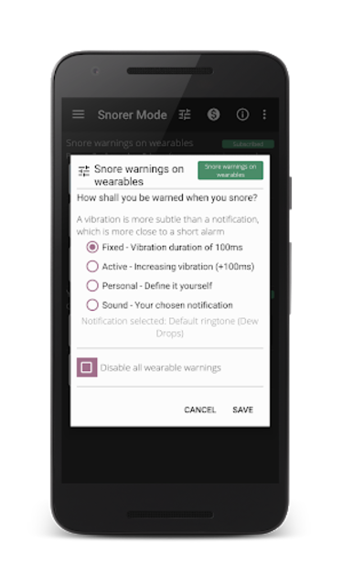 Snore detection Full | Adapt it to your needs screenshot 3