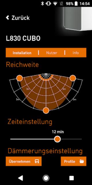 STEINEL SmartRemote screenshot 3