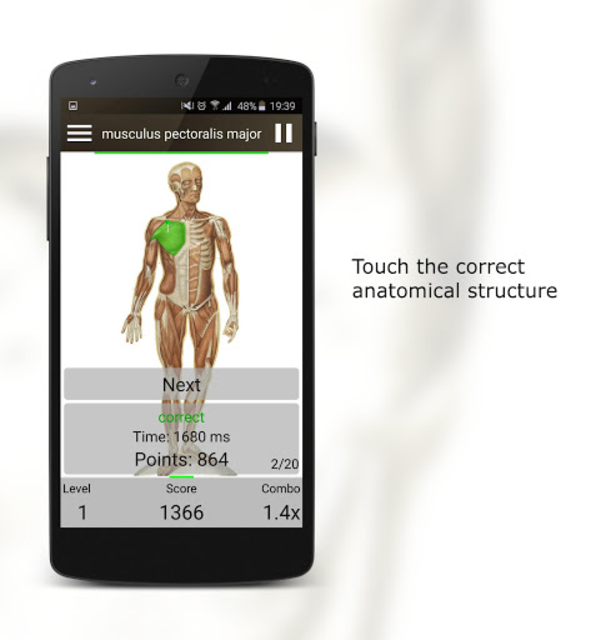 Anatomy Quiz screenshot 2