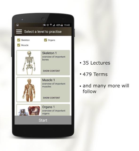 Anatomy Quiz screenshot 4
