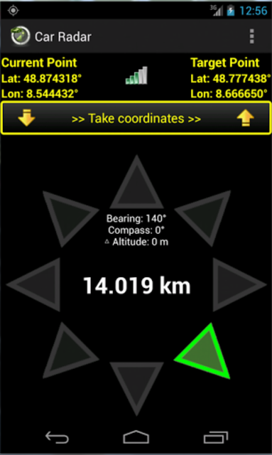 Car Radar the CarFinder screenshot 1