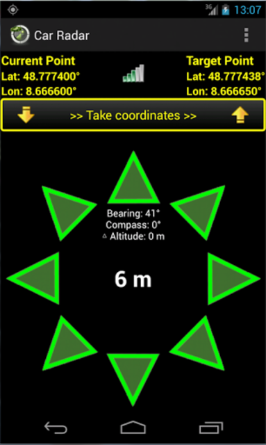 Car Radar the CarFinder screenshot 2