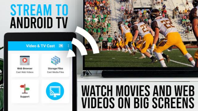 Video & TV Cast + Google Cast: Android TV Streamer screenshot 4