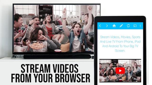 Video & TV Cast + Google Cast: Android TV Streamer screenshot 5