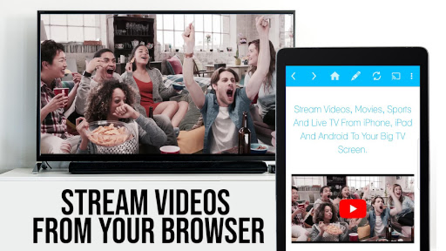 Video & TV Cast + Google Cast: Android TV Streamer screenshot 8