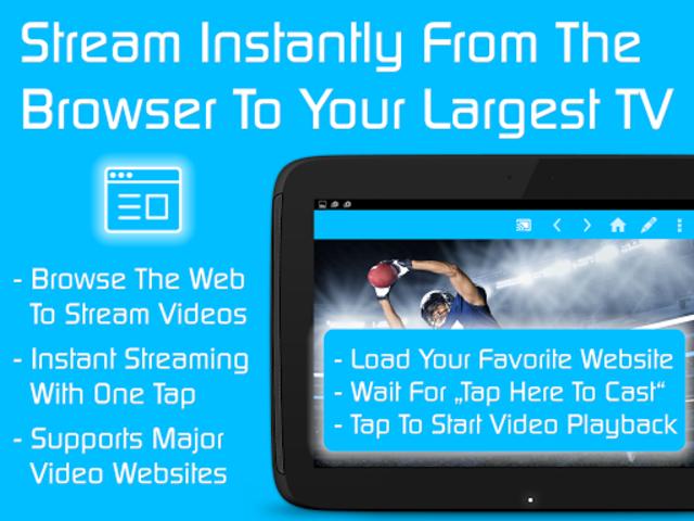Video & TV Cast + Google Cast: Android TV Streamer screenshot 10