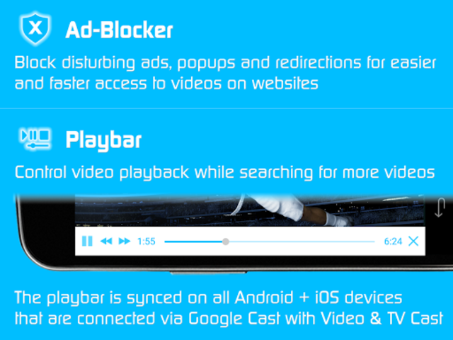 Video & TV Cast + Google Cast: Android TV Streamer screenshot 11