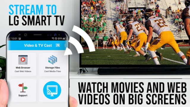 Video & TV Cast + LG Smart TV | HD Video Streaming screenshot 1