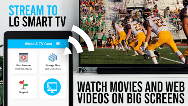 Video & TV Cast + LG Smart TV | HD Video Streaming screenshot 4