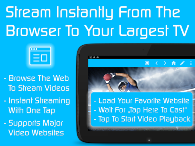 Video & TV Cast + LG Smart TV   HD Video Streaming screenshot 10