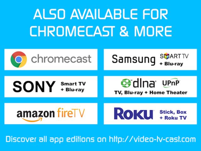 Video & TV Cast + LG Smart TV   HD Video Streaming screenshot 12