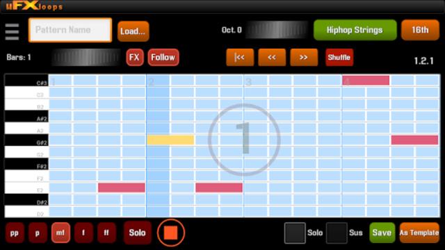 uFXloops Music Studio screenshot 6
