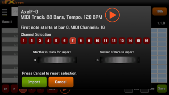 uFXloops Music Studio screenshot 7