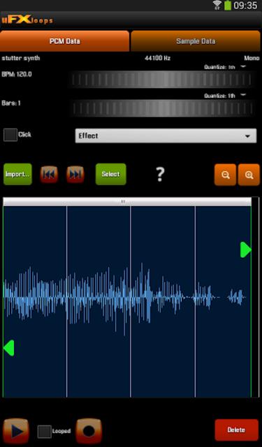 uFXloops Music Studio screenshot 12