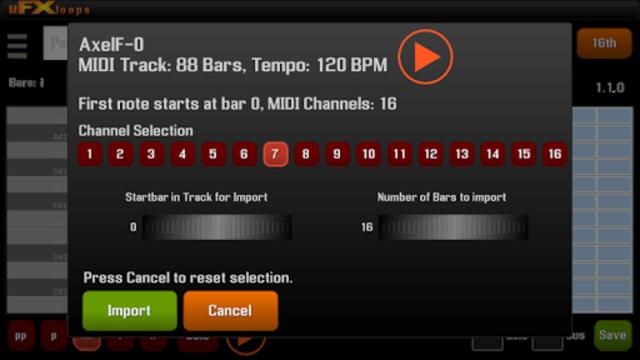 uFXloops Music Studio screenshot 21