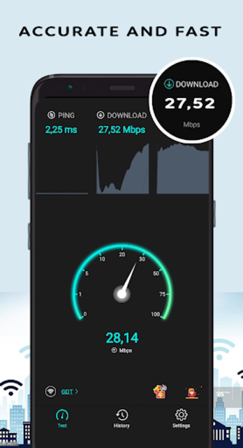 Wifi Speed Test - Internet Speed Test screenshot 1
