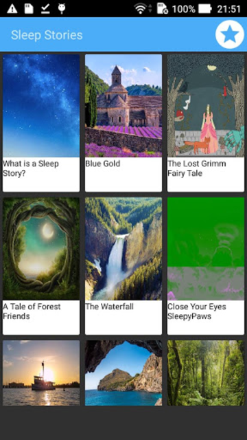 Sleep Stories screenshot 1