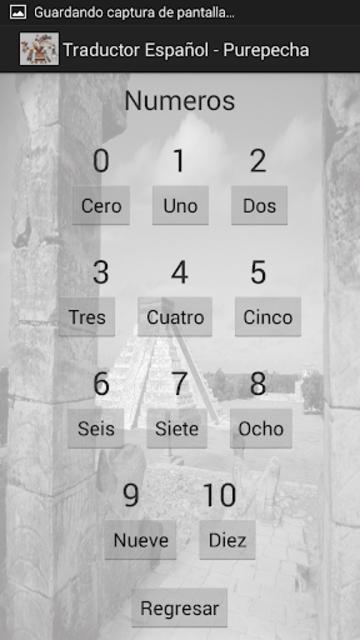 Traductor Español-Purepecha screenshot 3