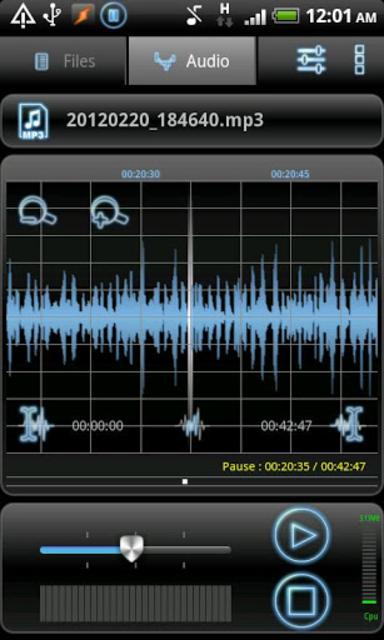 RecForge Pro - Audio Recorder screenshot 3