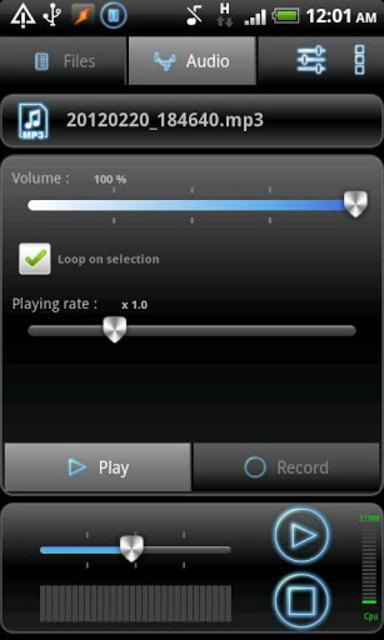 RecForge Pro - Audio Recorder screenshot 4