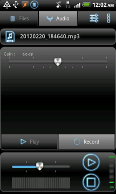 RecForge Pro - Audio Recorder screenshot 5