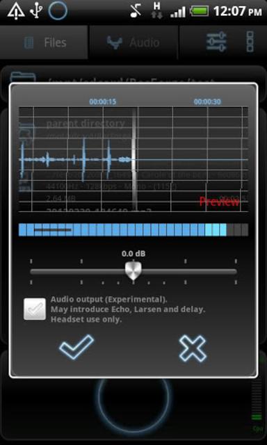 RecForge Pro - Audio Recorder screenshot 8