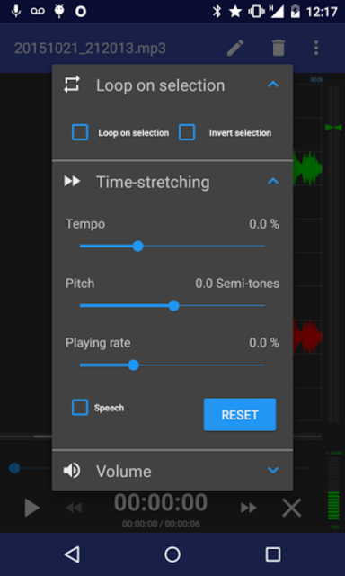 RecForge II Pro - Audio Recorder screenshot 4