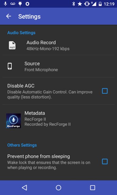 RecForge II Pro - Audio Recorder screenshot 5