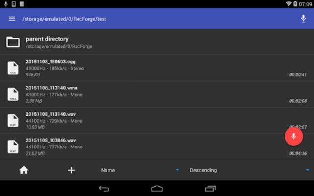 RecForge II Pro - Audio Recorder screenshot 9