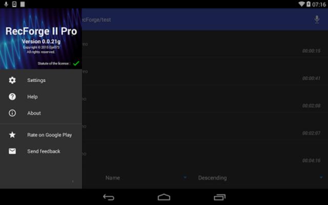 RecForge II Pro - Audio Recorder screenshot 10
