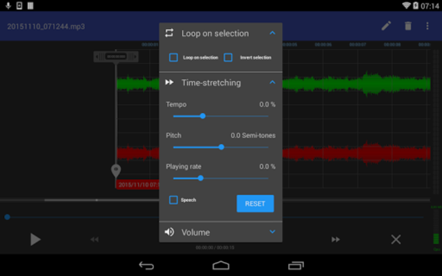 RecForge II Pro - Audio Recorder screenshot 12