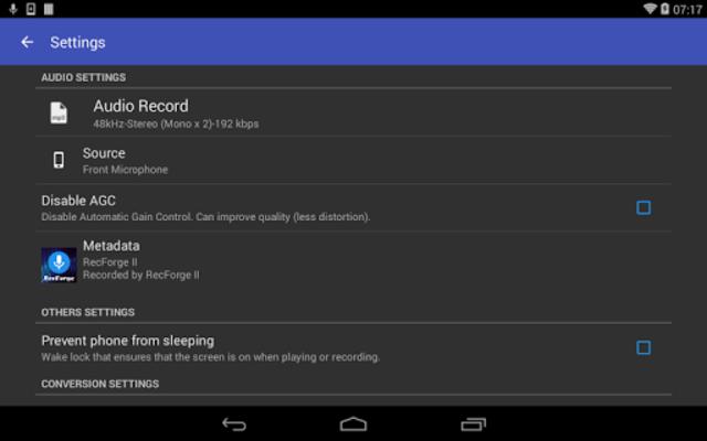 RecForge II Pro - Audio Recorder screenshot 13