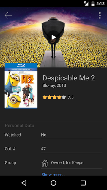 My Movies Pro - Movie & TV Collection Library screenshot 4